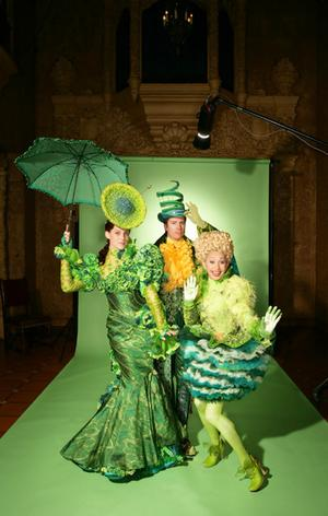 Cast and costumes for Wicked, the new musical.