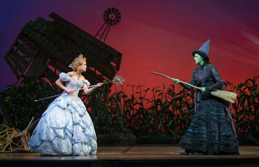Allison Bailey and Talia Suskauer in the North American Tour of WICKED